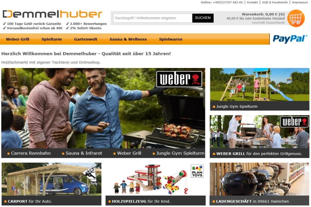 Demmelhuber Online Shop Und Gutschein